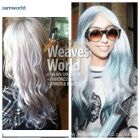 One of our clients lovely hair, based on a style by Lady Gaga